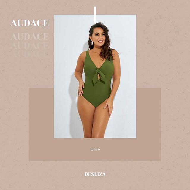 traje de bano enterizo Audace para talles grandes verano 2021