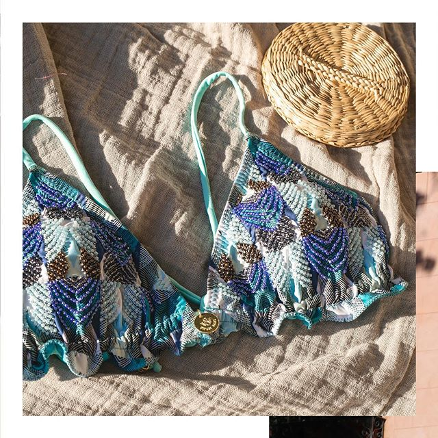 Bikini bordada con canutillos verano 2021 Swim Days