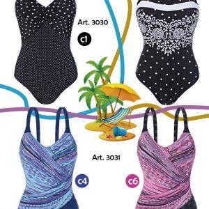 Trajes de bano estampados para senoras Sabbia Di Mare verano 2021