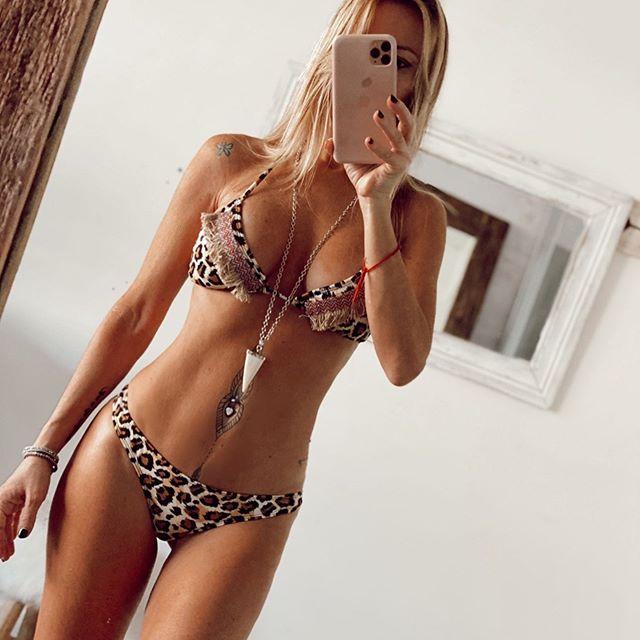 bikini animal print verano 2021 Lamaja