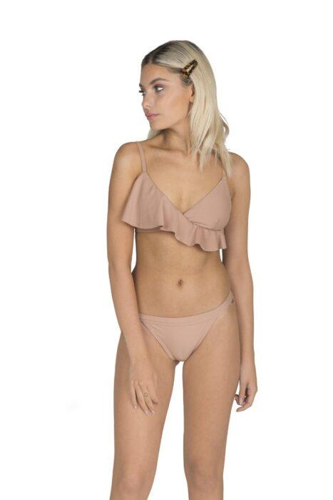 bikini color tostado Flipa Bikinis verano 2021