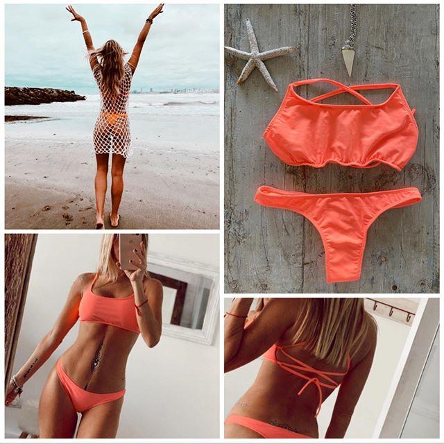 bikini coral verano 2021 Lamaja