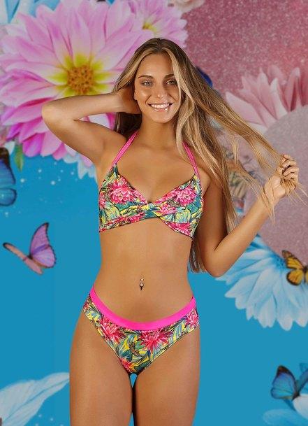 bikini estampada verano 2021 Biznet