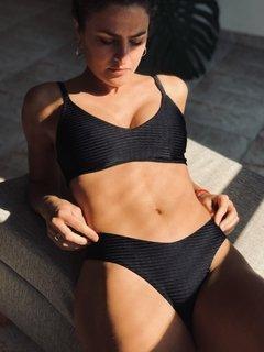 bikini negra Lete verano 2021