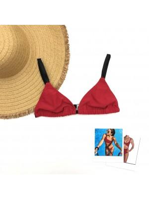 bikini roja verano 2021 Anna Bikinis