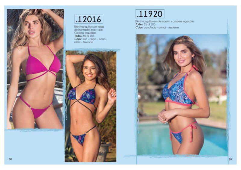 bikinis triangulo Natubel verano 2021