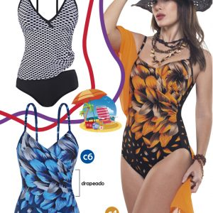 tankini y enterizas estampadas Sabbia Di Mare verano 2021