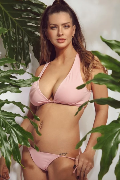 Sweet Lady Bikini rosada verano 2021