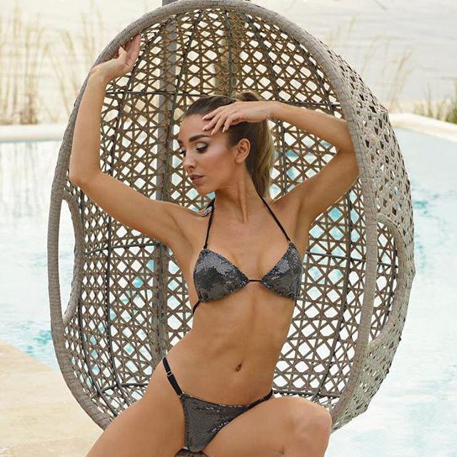 bikini con lentejuelas verano 2021 Paul Klee