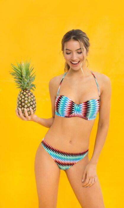 bikini estampada verano 2021 Yamie