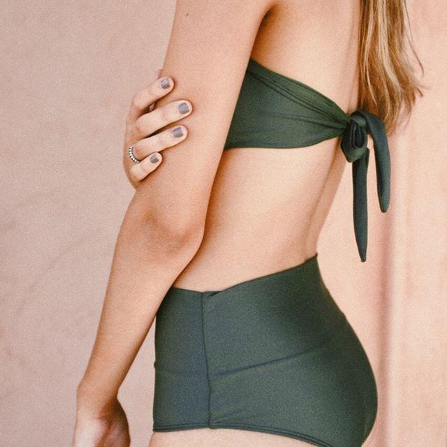 Kaikala bikini verde oscuro verano 2021