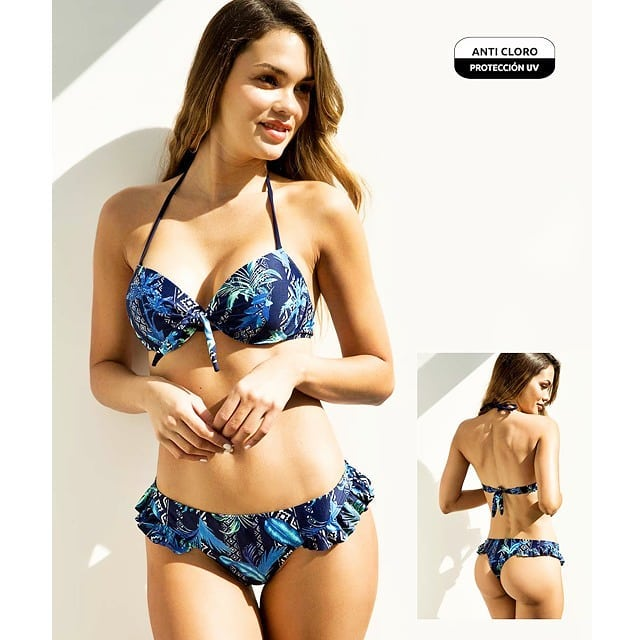 bikini azul verano 2021 Din Dan