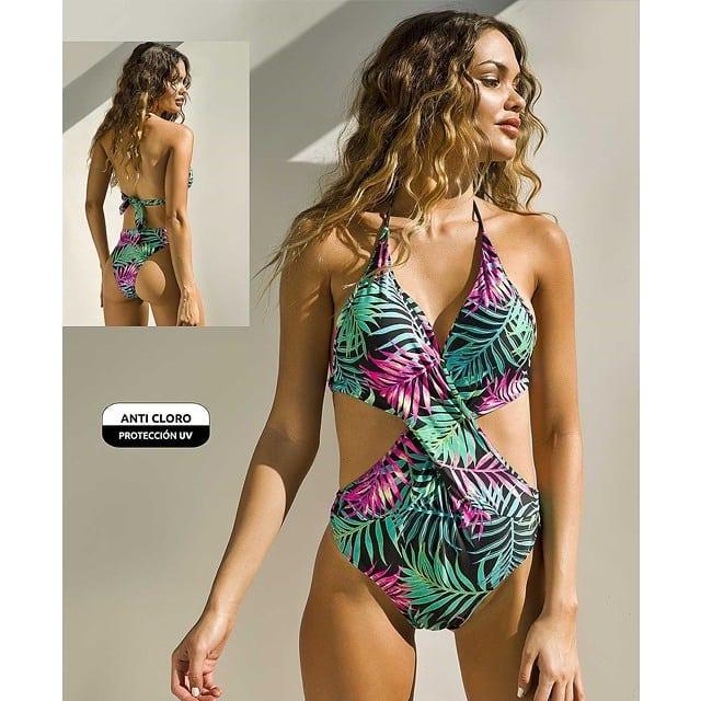 trikini estampada verano 2021 Din Dan