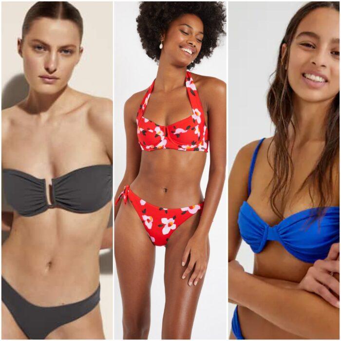 trajes de bano bikinis con sujetadores armados verano 2022