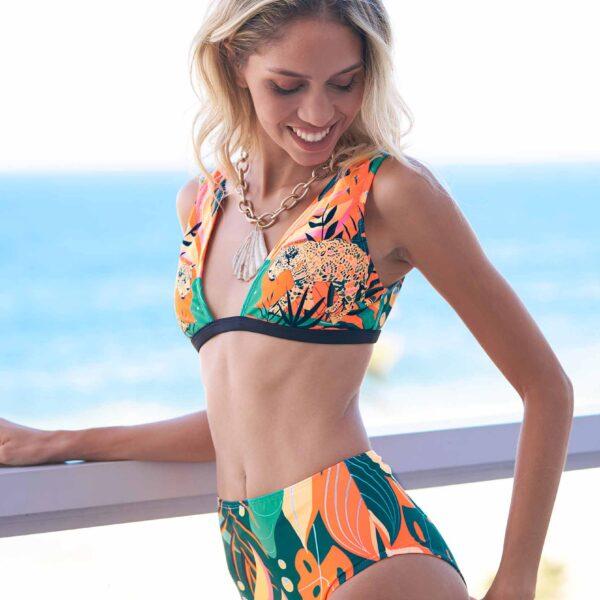 bikini estampa selvatica verano 2022 Saint malo