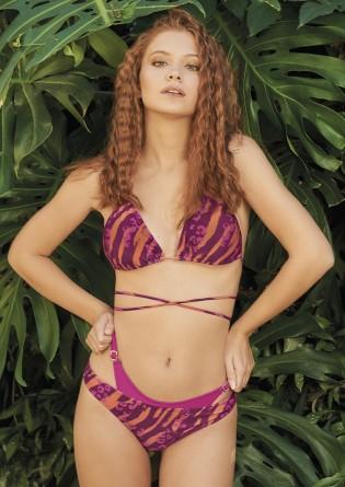 bikii cebra purpura y naranja verano 2022 Marcela koury